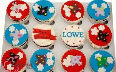 airplane cupcake