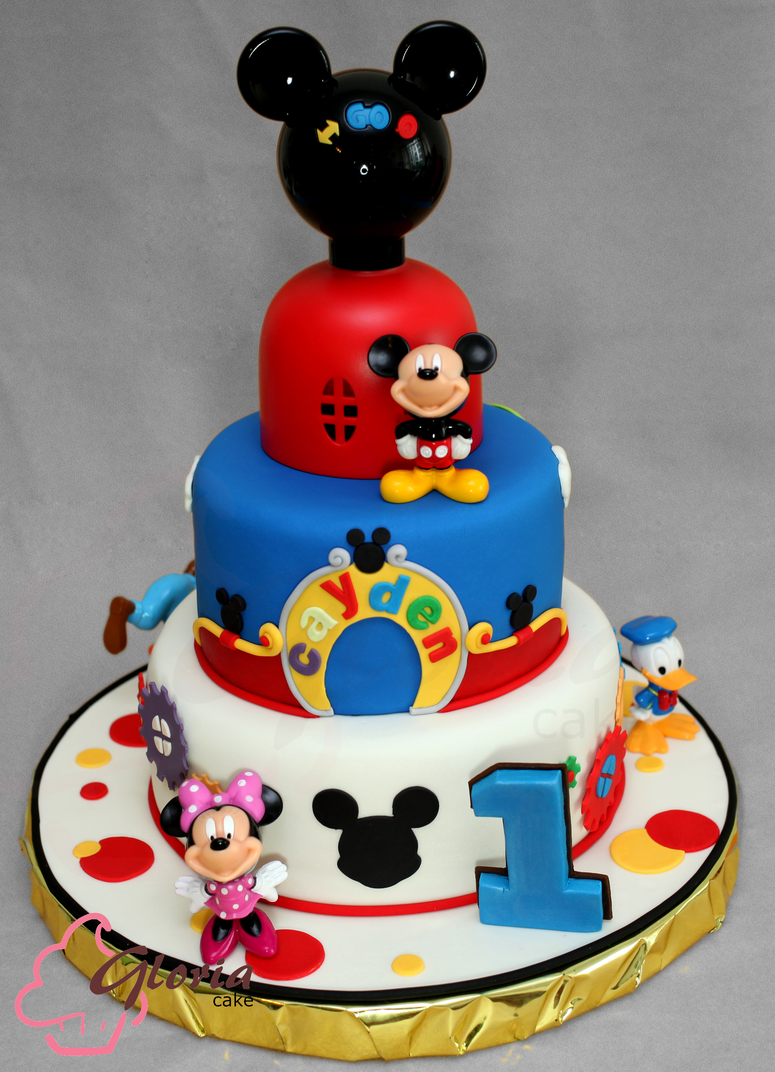Mickey Mouse Clubhouse Gloria Cake