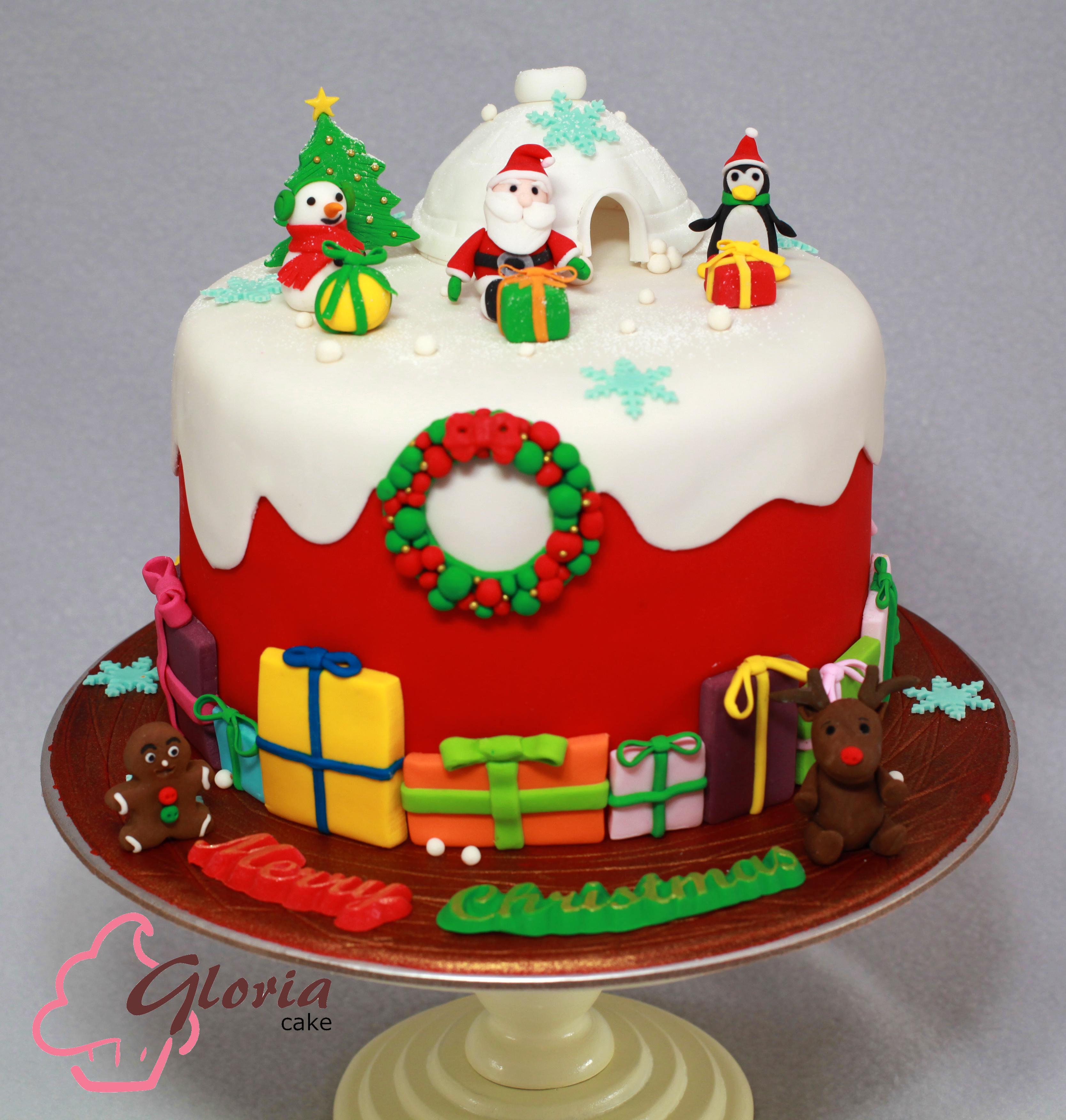 christmas cake great british chefs