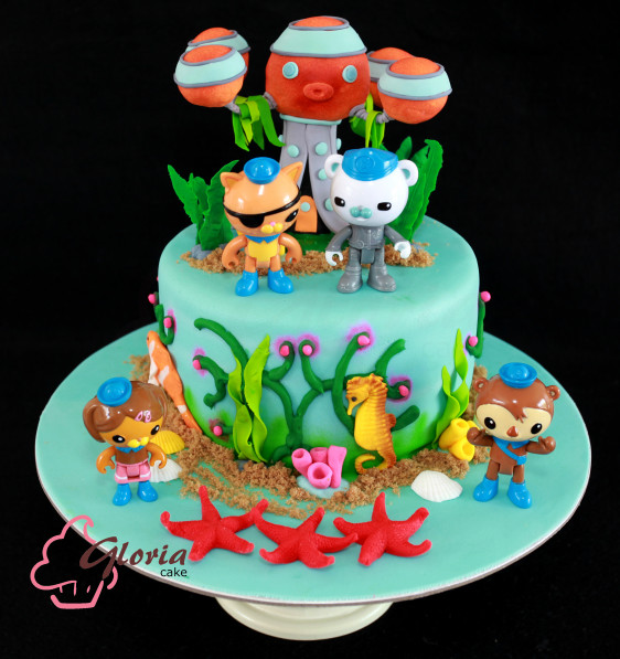 Octonauts Birthday Cake Gloria Cake