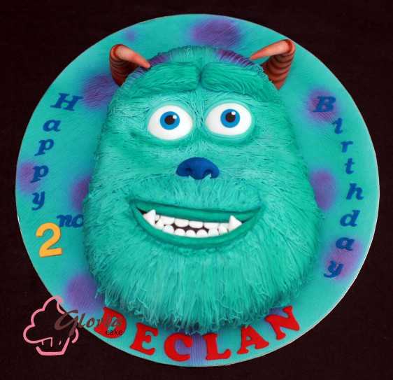 "Monster Inc™ Birthday Cake - James P. ""Sulley"" Sullivan"