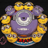 Minions Birthday Cake and Cupcakes