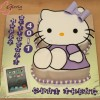 Hello Kitty and mini Ipad Birthday Cake