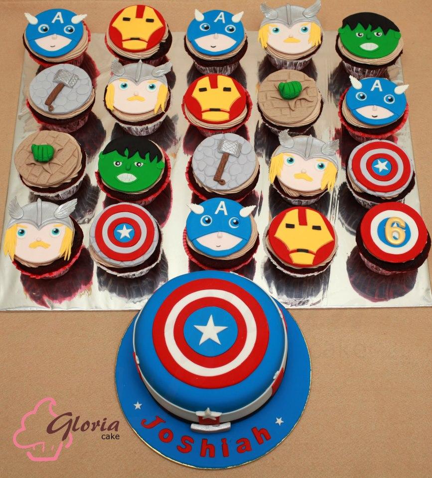 Avengers Cake Gloria Cake