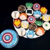 The Avengers Birthday Cake and Cupcakes
