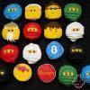 Ninjago Birthday Cupcakes