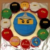 Ninjago Birthday Cake and Cupcakes