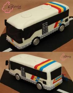 Bus Birthday Cake