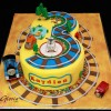 Three. Thomas the Train Birthday Cake