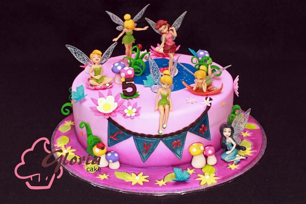 Tinkerbel? and the Fairies Gloria Cake