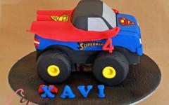 Superman truck