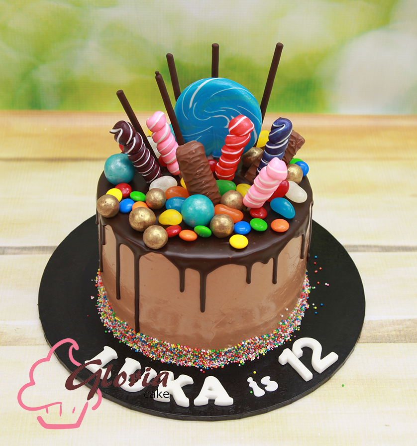 Lolly Shop Cake